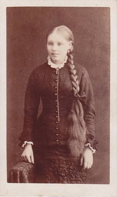 Nuotrauka. Liudvika Juškevičiūtė. 1900