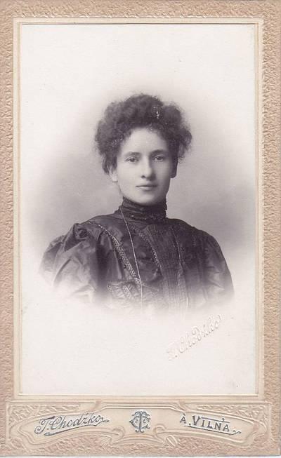 Tiburcijus Chodzka. Nuotrauka. Regina Navickaitė. 1875