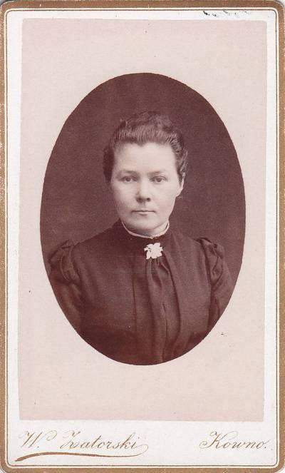 Vladislovas Zatorskis. Nuotrauka. Kazimiera Dausinaitė. 1900