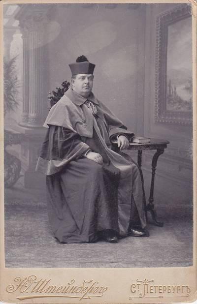 Julijus Šteinbergas. Nuotrauka. Kazimieras Jaunius. 1875