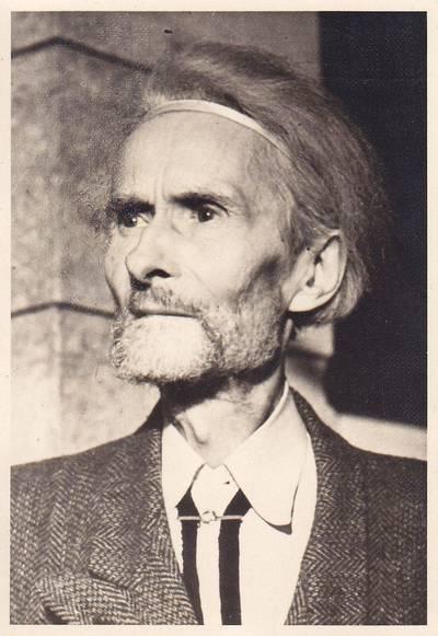 Nuotrauka. Vydūnas. 1952