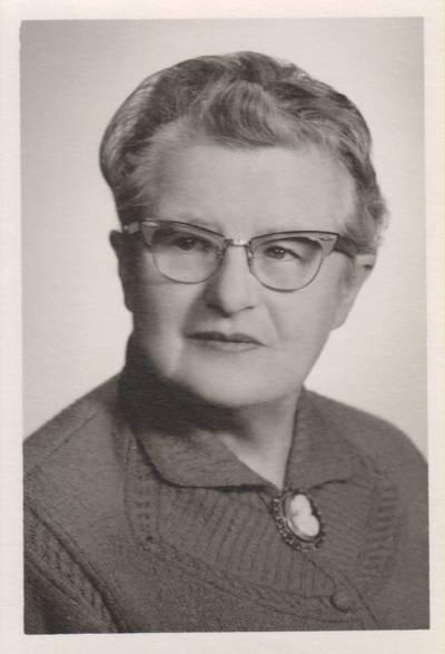 Nežinomas fotografas. Nuotrauka. Vanda Daugirdaitė-Sruogienė. 1964