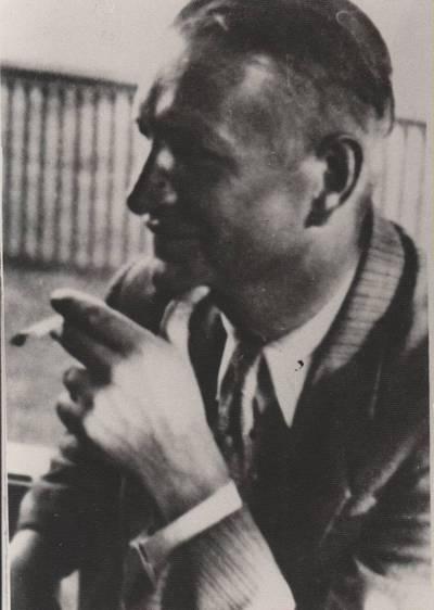 Nežinomas fotografas. Nuotrauka. Balys Sruoga. 1938