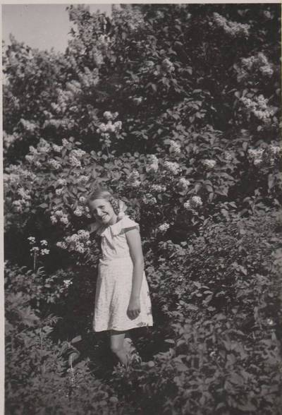 Nežinomas autorius. Nuotrauka. Dalia Sruogaitė. 1936