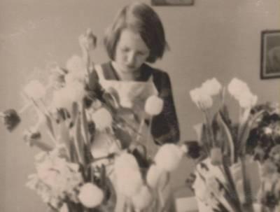 Nežinomas autorius. Nuotrauka. Dalia Sruogaitė vaikų darželyje. 1932