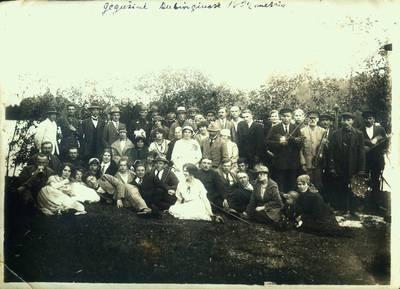 Fotografija. Gegužinė Dubingiuose. 1924