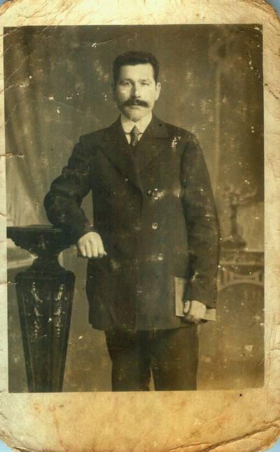 Fotografija. Arbatinės savininkas Zaremba. 1919