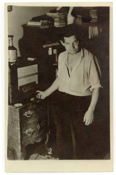 Panevėžio dramos teatro aktorius Vaclovas Blėdis / Vaclovas Blėdis. - apie 1955