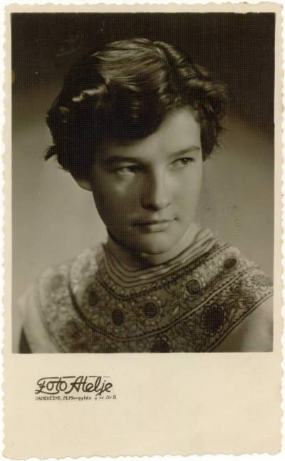 Panevėžio dramos teatro aktorė Dalia Melėnaitė / Dalia Melėnaitė. - 1955.07.07-1966.05.02