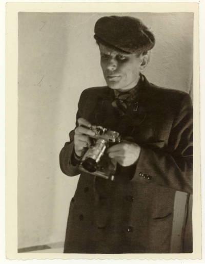 Panevėžio J. Miltinio dramos teatro aktorius Kazys Vitkus / Kazys Vitkus. - 1955
