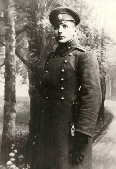 Kapitonas Alfonsas Novikas / Alfonsas Novikas. - apie 1905