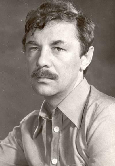 Panevėžio dramos teatro aktorius Aurimas Babkauskas / Aurimas Babkauskas. - apie 1980