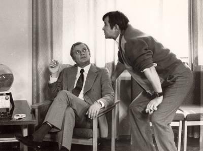 Aktoriai Bronius Babkauskas ir Algimantas Masiulis Panevėžio dramos teatre / Bronius Babkauskas, Algimantas Masiulis. - apie 1967