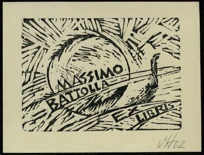 Ex libris Massimo Battolla / Henrikas Mazūras. - 2002
