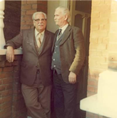 Kazimieras Barėnas su Augustinu Kuolu iš Kanados / Kazimieras Barėnas, Augustinas Kuolas. - apie 1970