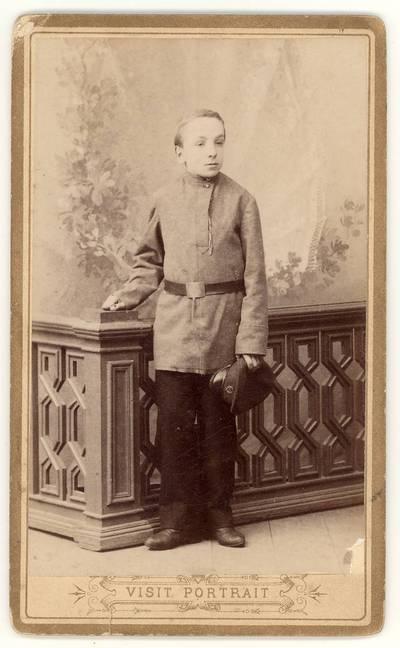 Zigmantas Moigis. Portretinė nuotrauka / Zigmantas Moigis. - apie 1895