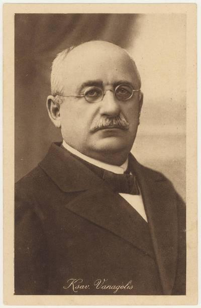 Ksav. Vanagėlis. - 1921