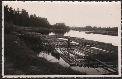 Nežinomas fotografas. Sieliai Šventojoje. 1940