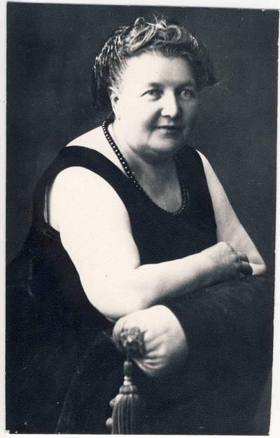 Nežinomas fotografas. Liudvika Didžiulienė-Žmona. 1924