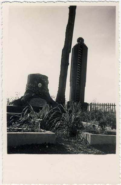 Nežinomas fotografas. Padvarninkų kapinės. 1940