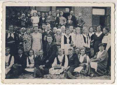 Nežinomas fotografas. Skiemonių pavasarininkai Kaune. 1940