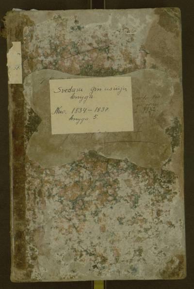 Svėdasų parapijos gimimų registracijos knyga. 1837-06-30