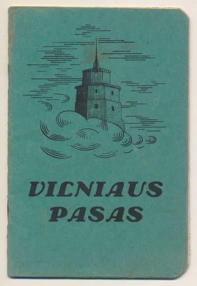 J. Jankausko Vilniaus pasas. 1932-08-17
