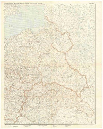 Übersichtskarte - Deutsches Reich 1:1000000