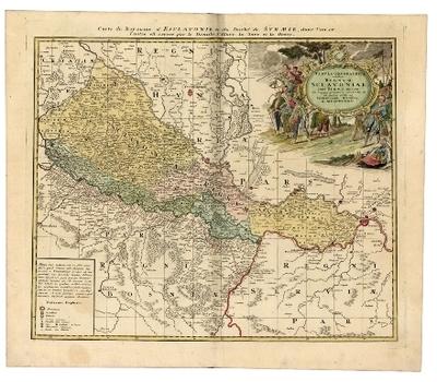 Tabula Geographica exhibens Regnum Sclavoniae cum Syrmii Ducatu