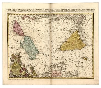 NOVISSIMA et ACCURATISSIMA REGNORUM, et INSULARUM SICILIAE, ET SARDINIAE, Hydro-Geographica Exhibitio