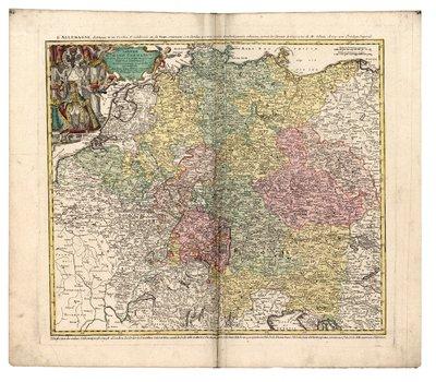 Imperii Romano-Germanici In Suos Status Et Circulos Divisi Tabula Generalis