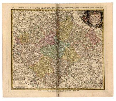 Bohemiae regnum in XII circulos divisum