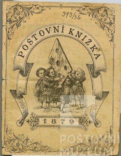 Poštovní knížka na rok 1879