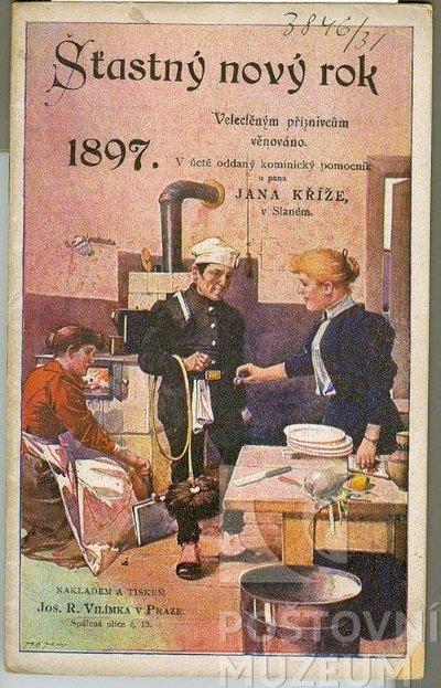 Kominická knížka na rok 1897