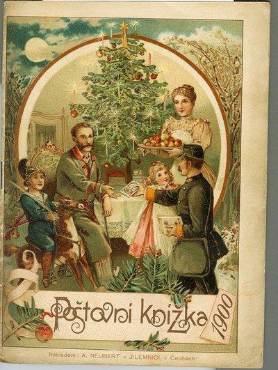 Poštovní knížka na rok 1900