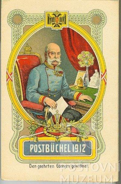 Poštovní knížka na rok 1912