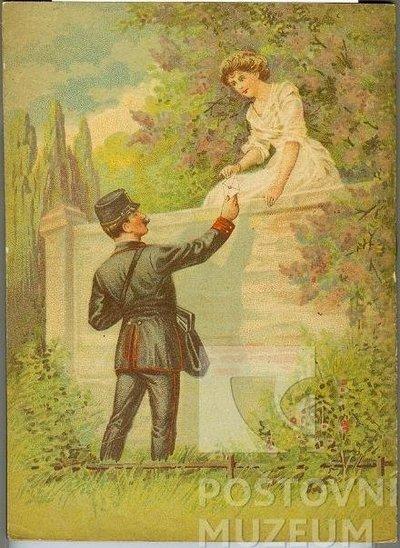 Poštovní knížka na rok 1913