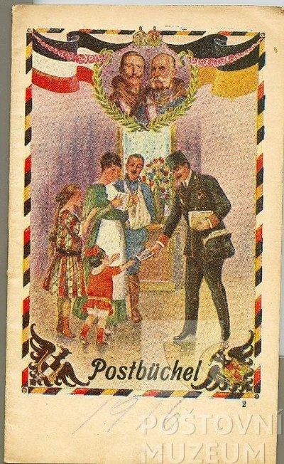 Poštovní knížka na rok 1916