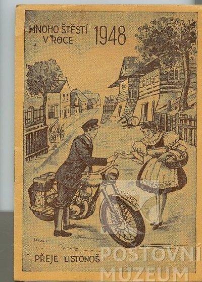 Poštovní knížka na rok 1948