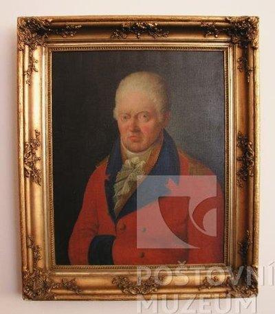 Portrét brandýského poštmistra Romedia Tomáška