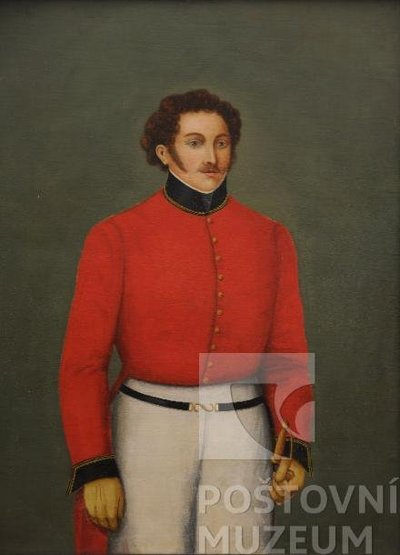Portrét poštmistra Josefa Doubka