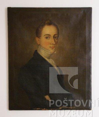 Potrét Gustava Rettiga (nezn. autor)