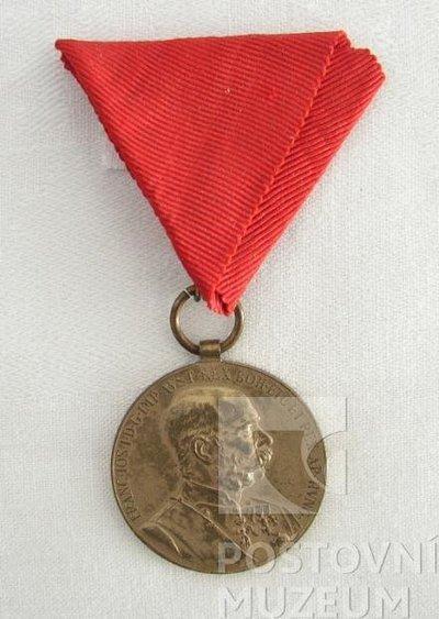 Pamětní medaile k 60. výročí panování Fratiška Josefa I.