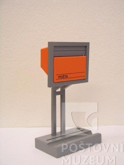 Reklamní model poštovní schránky