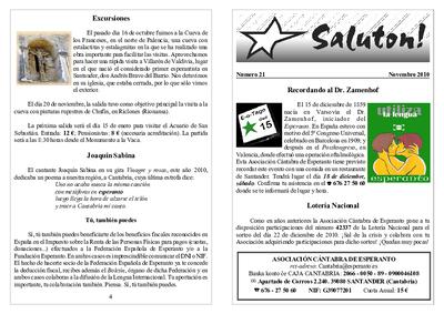 Saluton!, 2010, n. 21, novembro