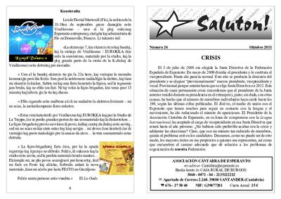 Saluton!, 2011, n. 24, oktobro