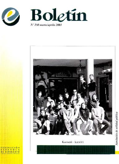 Boletín, [2001], n. 350