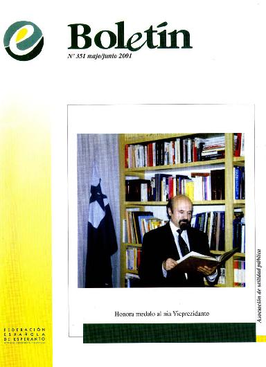 Boletín, [2001], n. 351