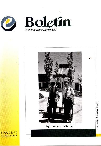 Boletín, [2001], n. 352