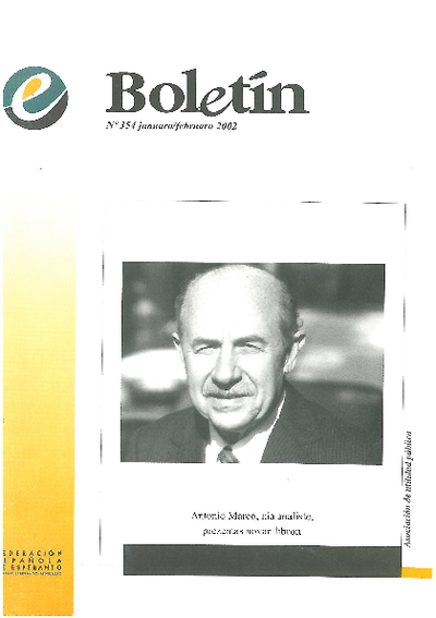 Boletín, [2002], n. 354